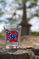 Battle Flag Shot Glass