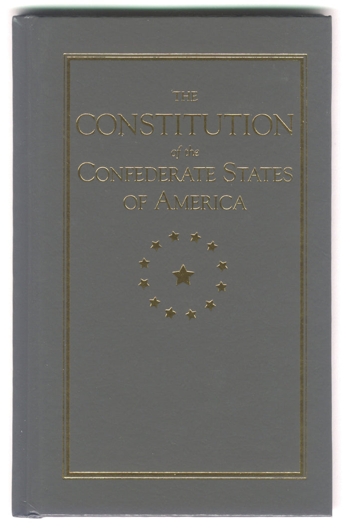 Books, The Constitution of the Confederate States of America-