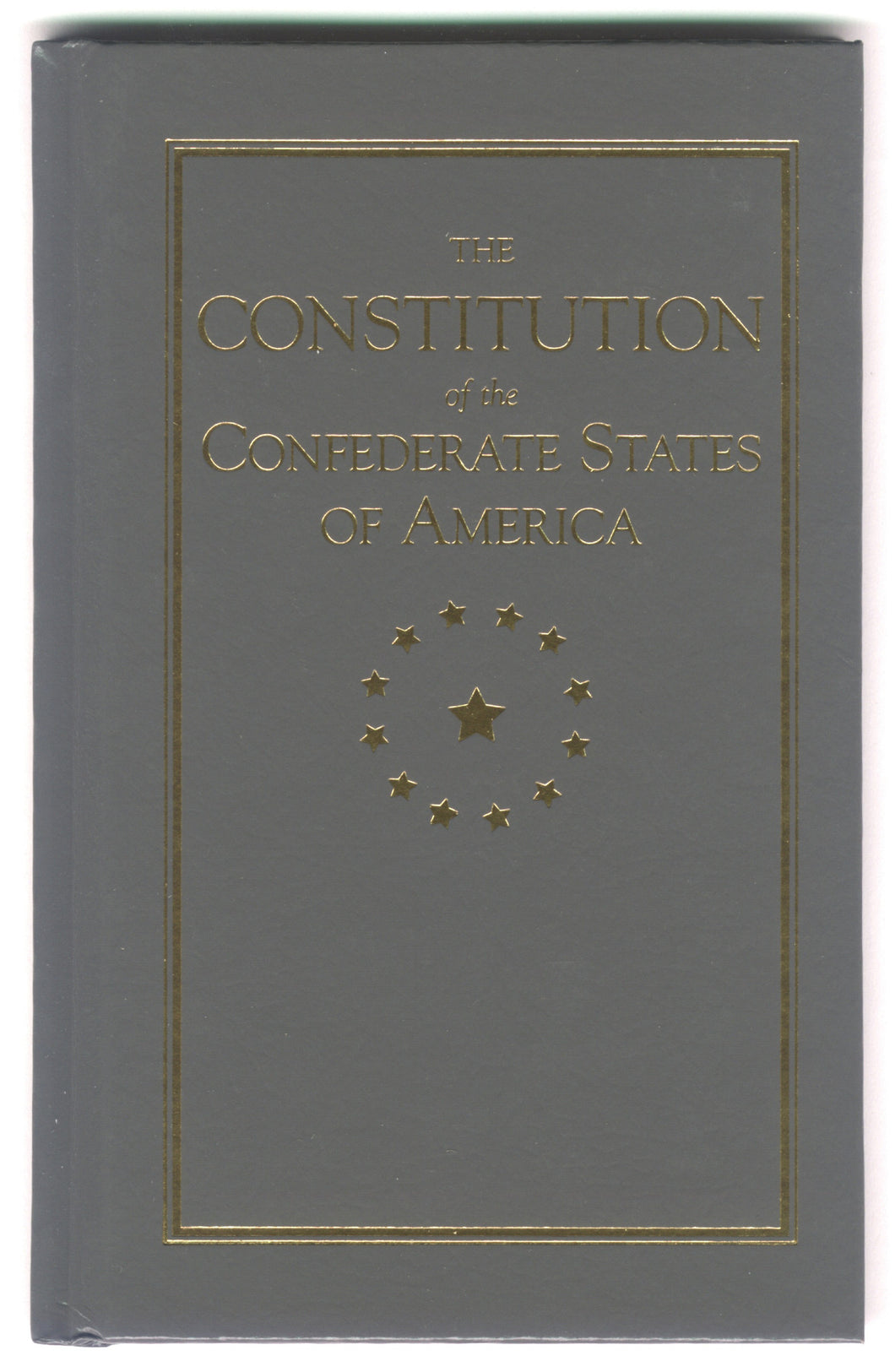 Books, The Constitution of the Confederate States of America
