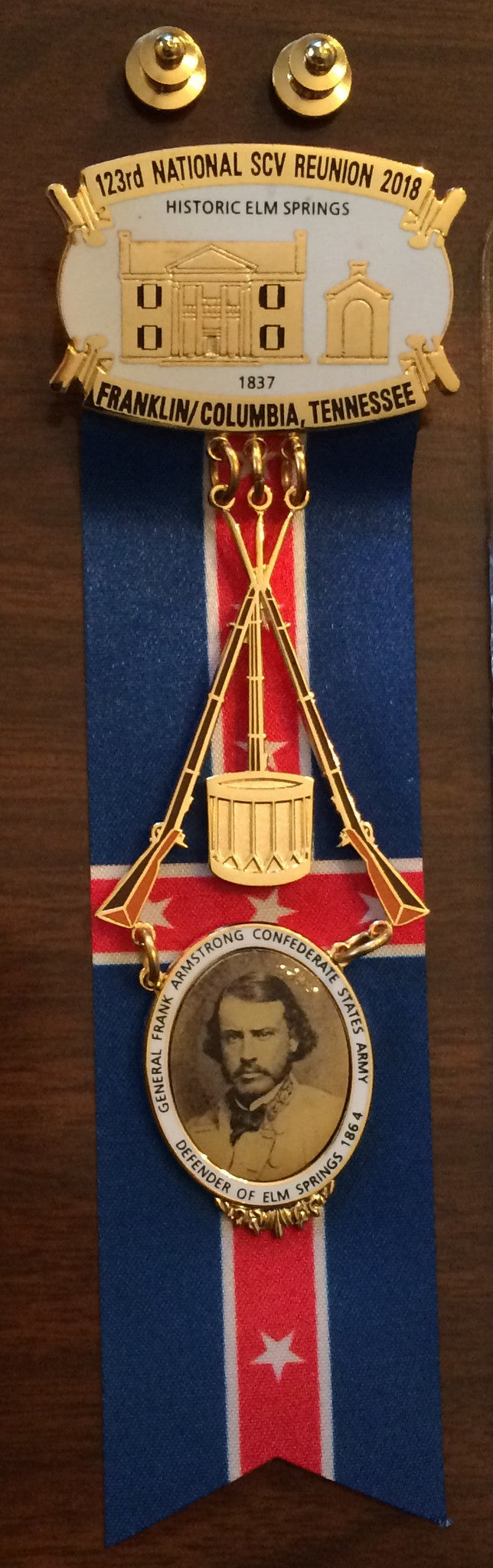 2018 SCV Numbered Reunion Medal