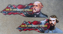 Confederate General Magnets