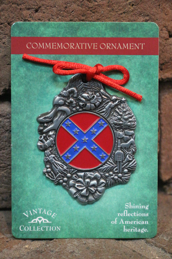 Battle Flag Christmas Ornament