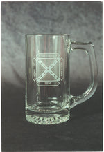 Glass Mug with SCV Logo