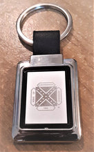 Etched Logo Key Chain