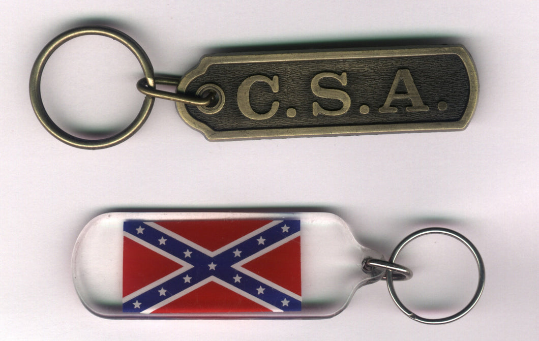 Confederate Key Chains