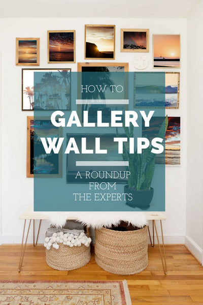Gallery Wall Tips Roundup from the Experts