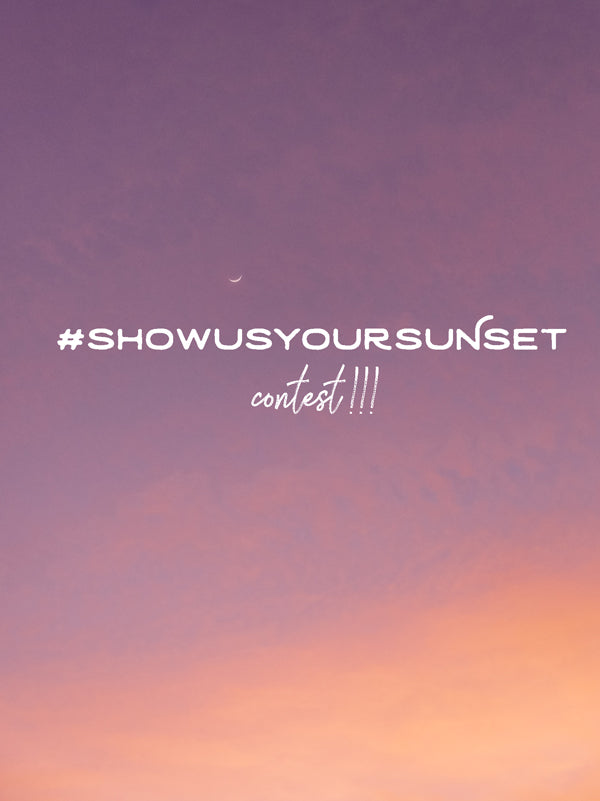 "Are you a lost in the moment kinda person? Like, the sighting of the mysterious moon, a magical rainbow, or a breathtaking sunset just stops you in your tracks and you simply squeal, ""OMG look at thatttttt!!!!!"" Find out how to enter the #ShowUsYourSunset"