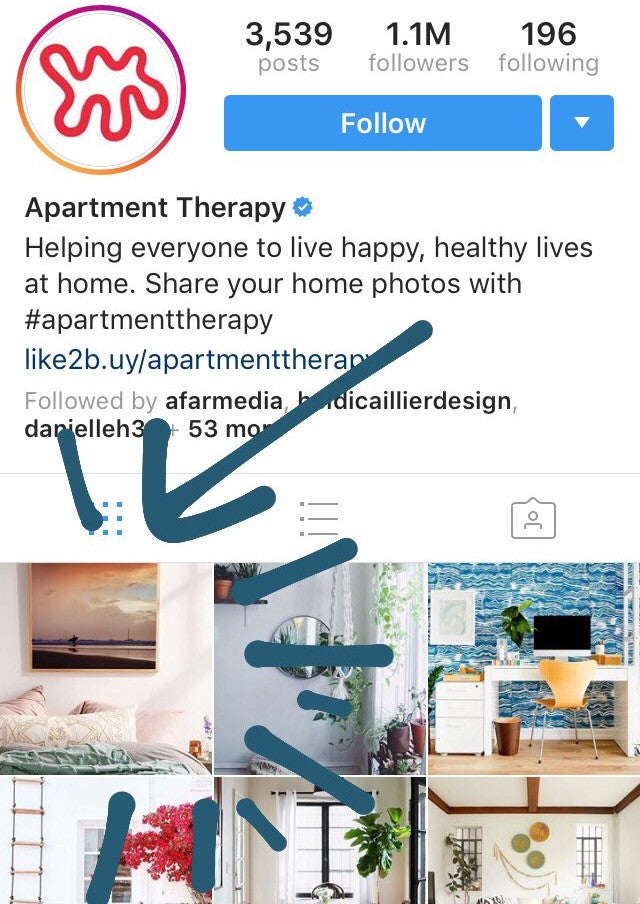 "Apartment Therapy Instagram featuring Samba to the Sea sunset print ""Dance to the Song of the Sea"""