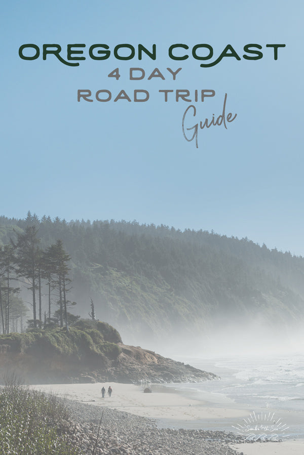Let's go on a road trip adventure down the Oregon Coast. Four Day Road Trip Guide. Cape Lookout on the Oregon Coast by Kristen M. Brown Samba to the Sea.