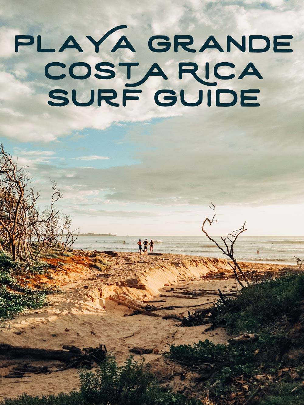 Playa Grande Costa Rica surf guide by Kristen M Brown, Samba to the Sea.