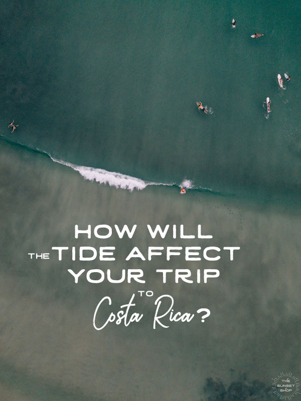 How will the tide affect your trip in Costa Rica? Aerial image of wave breaking in Playa Avellanas Costa Rica. By Kristen M. Brown Samba to the Sea.