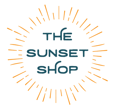 The Sunset Shop badge.