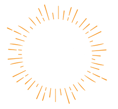 The Sunset Shop badge logo