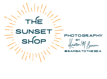 The Sunset Shop, photography by Kristen M. Brown @sambatothesea