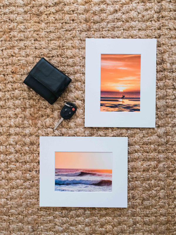 Sunset Surf Dreams - 5x7 Matted Prints