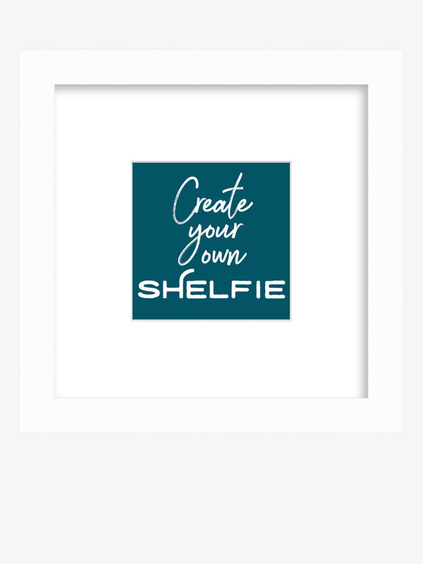Create Your Own Framed Shelfie Print