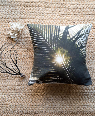 Dreaming Under A Palm Tree. Palm Tree accent pillow by Samba to the Sea.