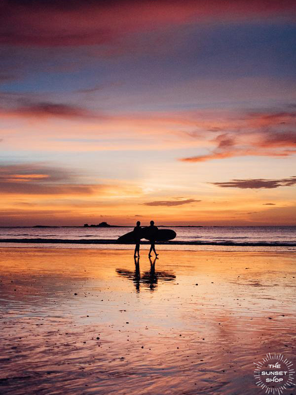 All you need is love, surf, and sunsets. Love, surf, and sunsets wanderlust image by Samba to the Sea at The Sunset Shop.