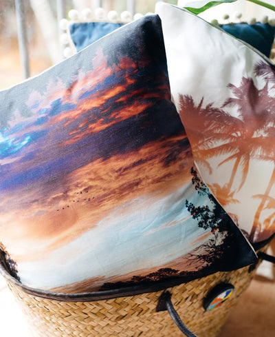 Magic on the Marsh throw pillow by Samba to the Sea at The Sunset Shop. Beautiful sunrise in Savannah Georgia.