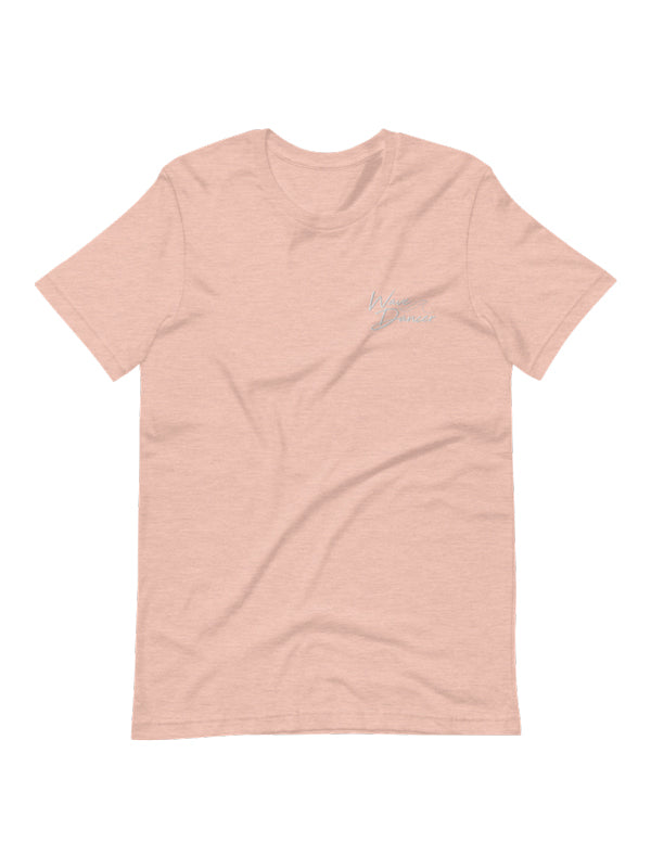 Wave Dancer Embroidered Tee - Sunset