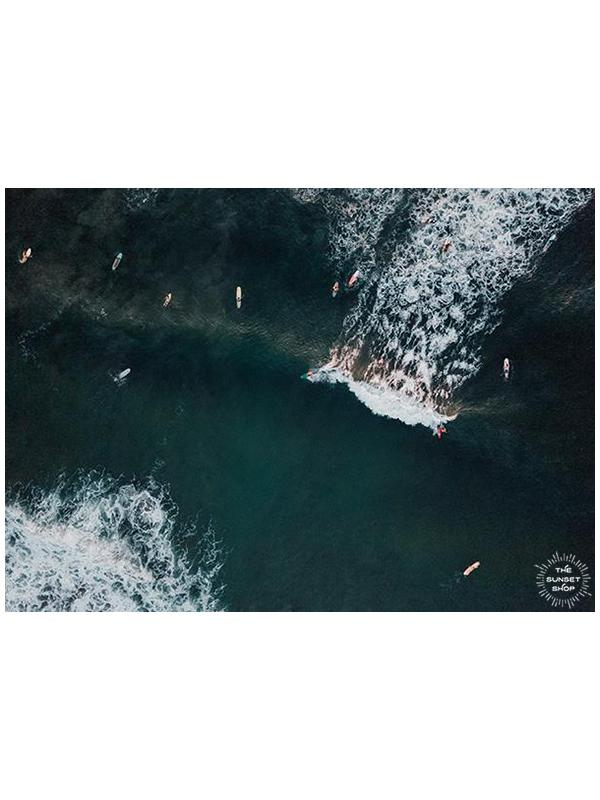 Aerial Surf Dreams - 5x7 Matted Prints