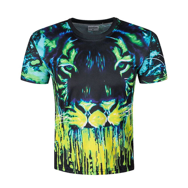 BIANYILONG 2017 Newest unisex 3D weed leaf t shirt shirts green palm funny T-shirt summer casual top tees crew neck clothing
