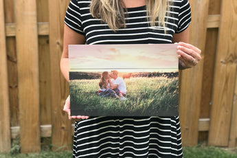 10.5 x 14 in. Custom Photo Pallet