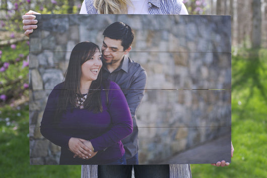 22 x 30 in. Custom Photo Pallet