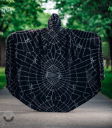 Black Velvet Halloween Cape