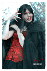 Dracula's Bride Black Cape