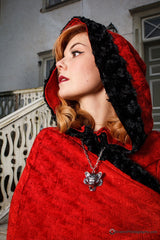 "The ""Red Wolf"" Winter Cape"