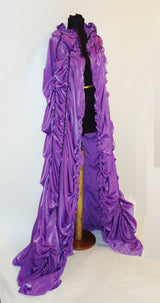 The Lily Munster-Inspired Casket Cape
