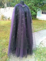 "The ""Purple Witch of Passion"" Halloween Cape"
