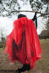 Blood Bride Halloween Cape
