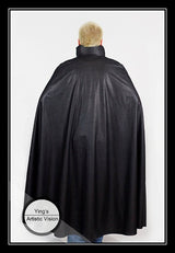 Leather Look Cape
