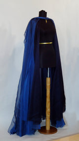 Will-o'-the-Wisp Blue Formal Cape