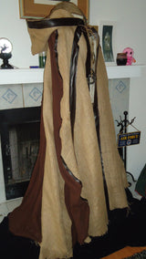 "Steampunk/Apocalyptic Cape ""Rust & Dust"""