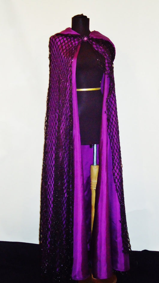 The Webbed Witch Cape