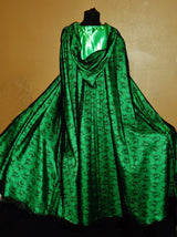 The Spider Green Halloween Cape