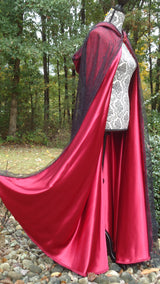 "The ""Red Widow"" Cape"