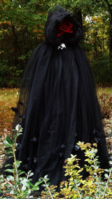 "The ""Dark Beauty"" Halloween/Gothic Cape"