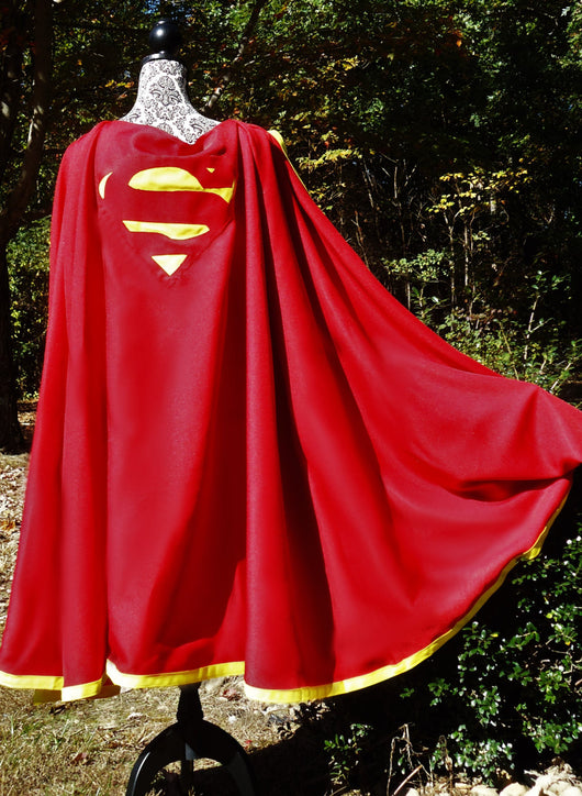 Adult Superlad/Superman-Inspired Cape
