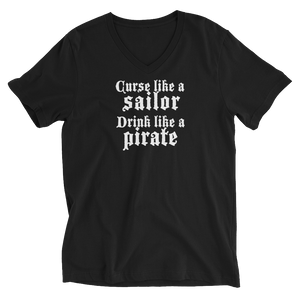Curse like a sailor v-neck t-shirt
