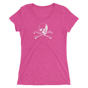 Pink skull and crossbones shirt