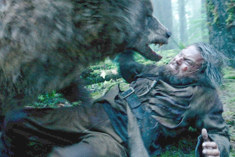 The Revenant - Leonardo Dicaprio grizzly bear scene