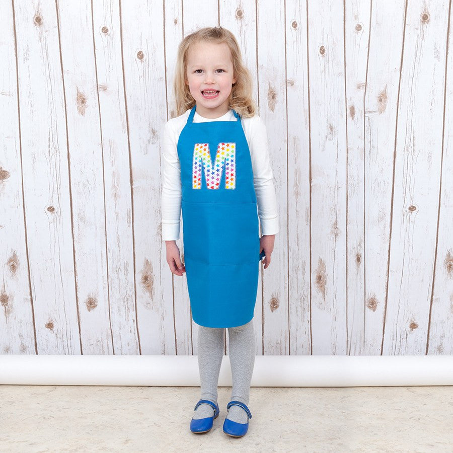 Personalised Child's Star Baking Apron, - Betty Bramble