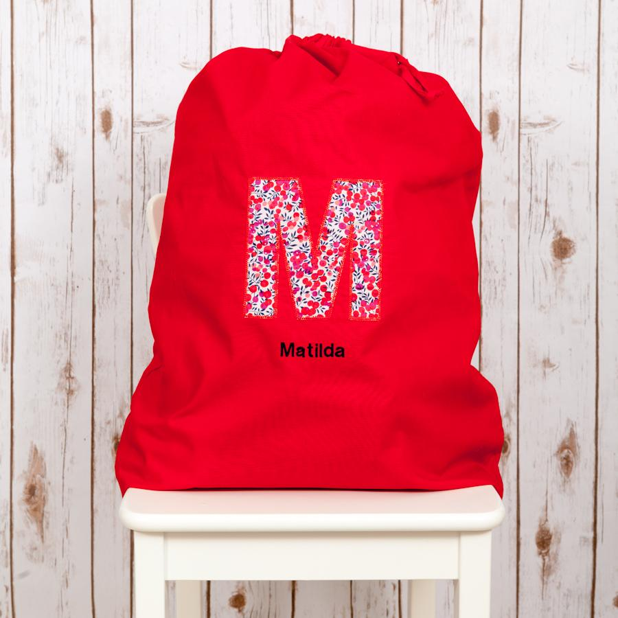 Personalised Liberty Santa Sack,Christmas - Betty Bramble
