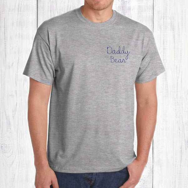 352ba006 Daddy Bear Embroidered T Shirt, - Betty Bramble