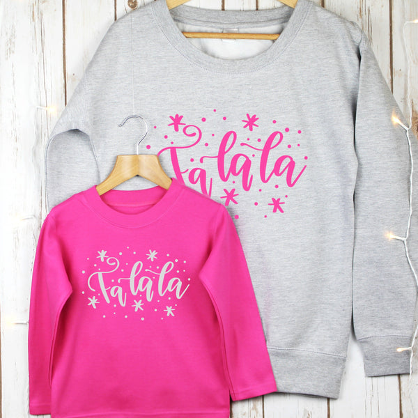 Ladies Christmas Jumper and Child Set,Christmas - Betty Bramble