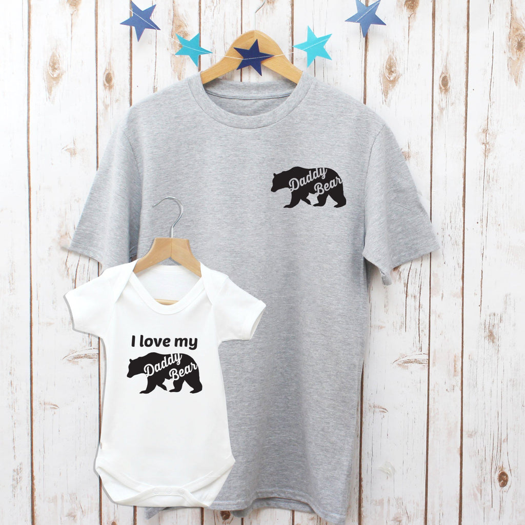 I love My Daddy Bear Matching T Shirts, - Betty Bramble